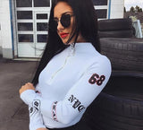 BMX Race Car Style Longsleev Bodysuit - DGCouture™