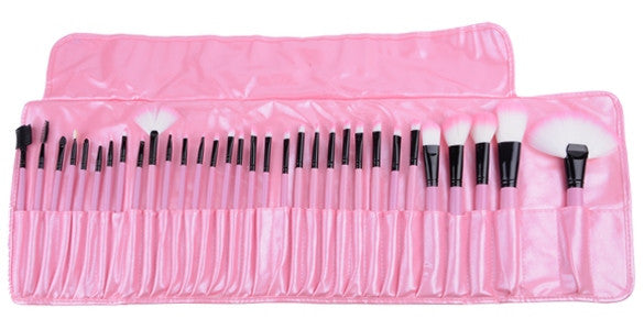 Glam Gawd 32 Pcs Professional Quality Makeup Brush Set - DGCouture - 3
