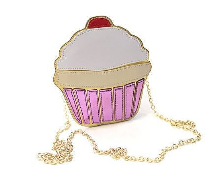 Cupcakin Creative 3D Cartoon Cupcake Mini Purse - DGCouture™