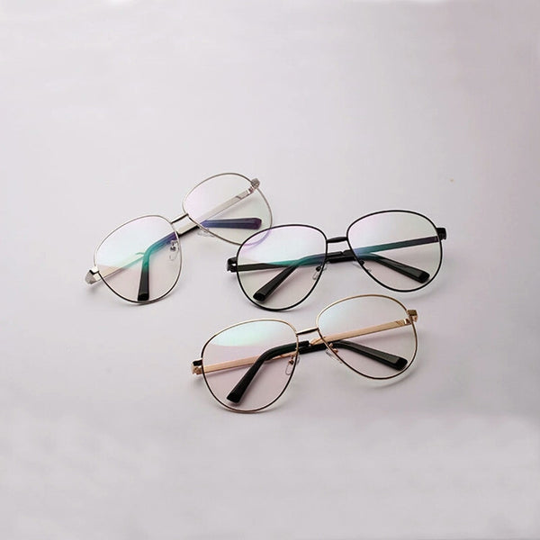 Coppin Clear Lens Aviator Glasses - DGCouture - 2