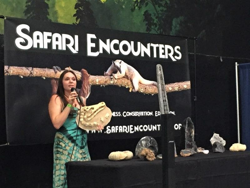 North Bay Herpetological Society Expo Reptanicals Presentation Biologist Brown Safari Encounters Banner