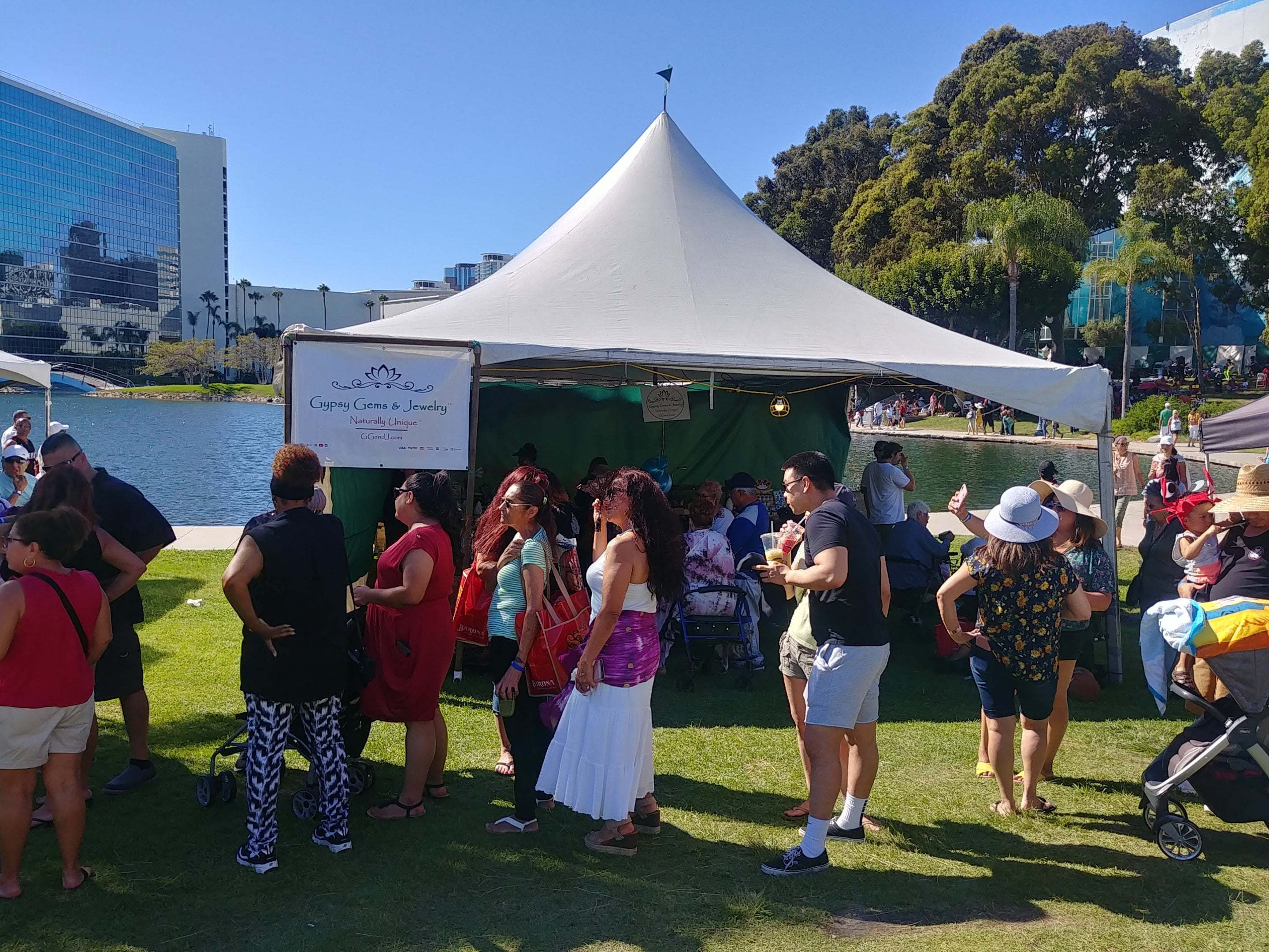 Original Lobster Festival Long Beach Rainbow Lagoon Park 2019 Gypsy Gems