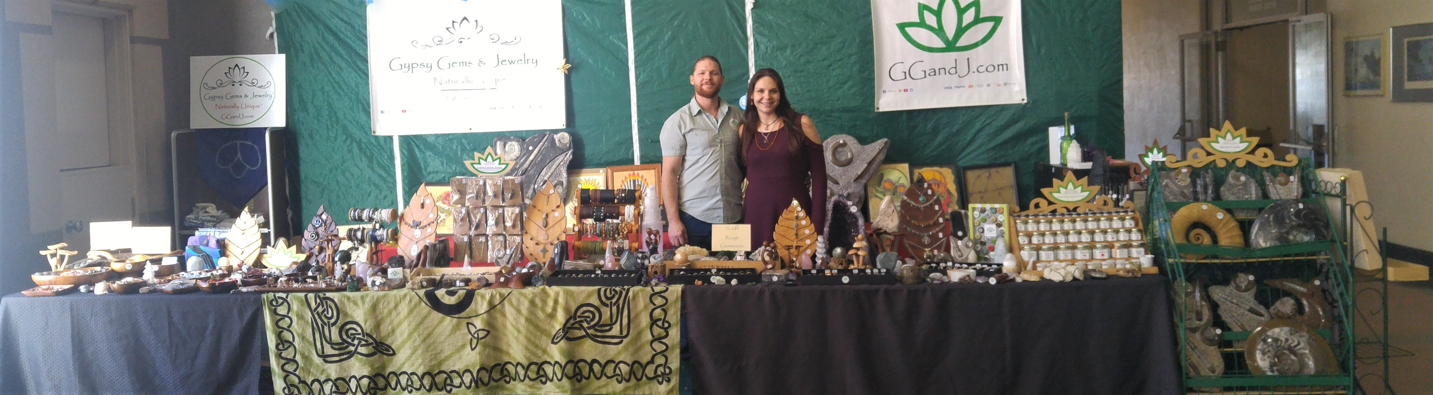 Santa Rosa Veterans Building Gypsy Gems Featured Booth