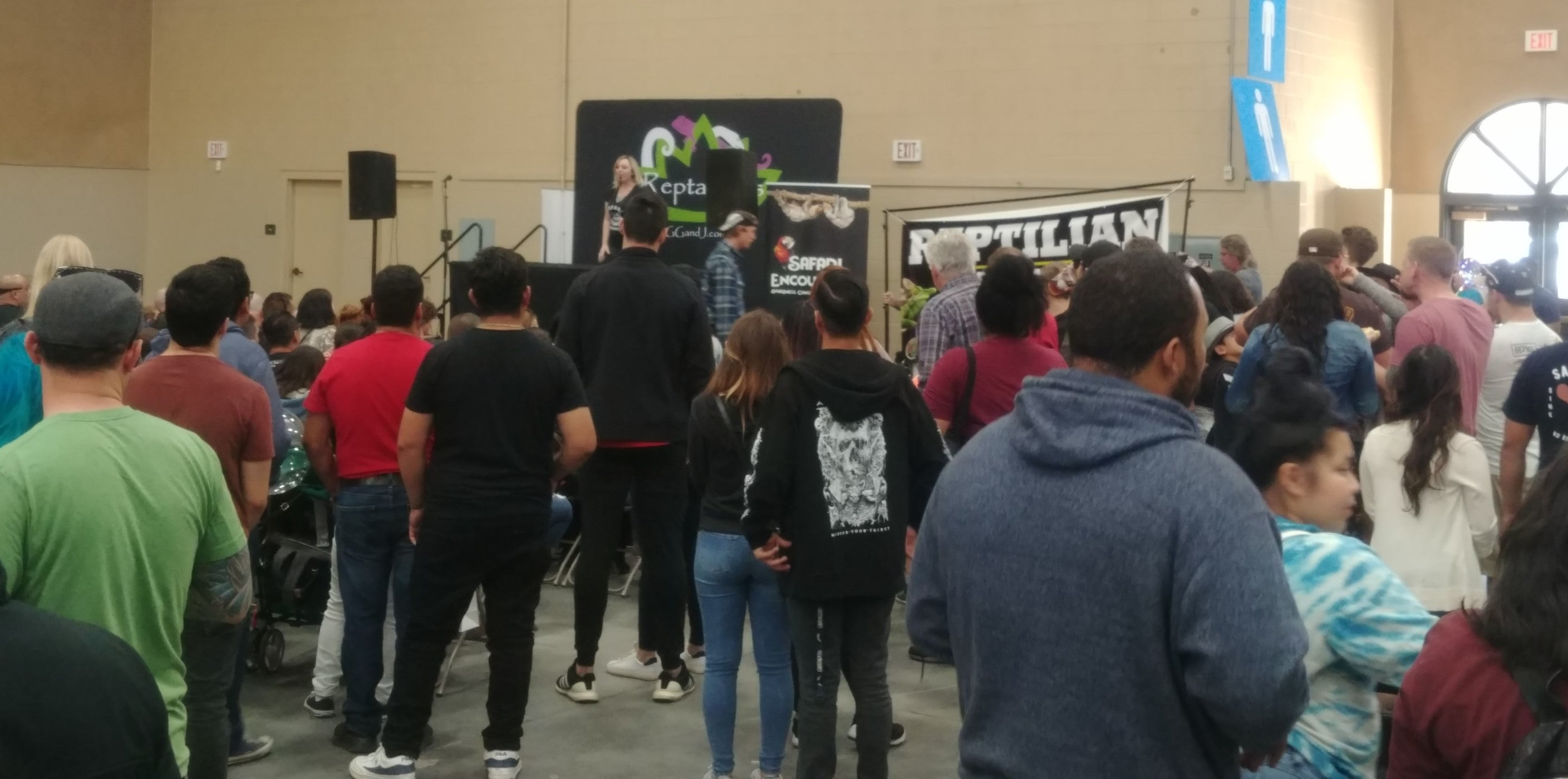 Reptilian Nation Expo Del Mar Reptanicals Brandi Blue Safari Encounters