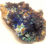 GG&J Naturally Unique Malachite Azurite Barite Quartz