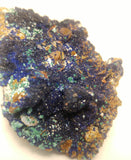 Rough Azurite Malachite Barite Quartz