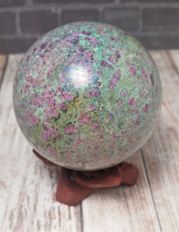 Gypsy Gems & Jewelry™ Naturally Unique™ Ruby Zoisite Sphere