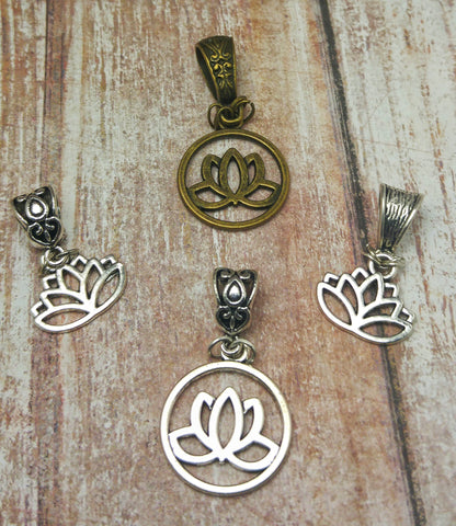 Gypsy Gems & Jewelry™ Naturally Unique™ Lotus Pendant