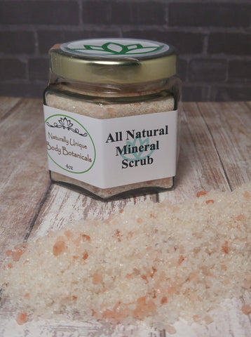 Gypsy Gems & Jewelry™ Naturally Unique™ Body Botanicals™ Mineral Scrub