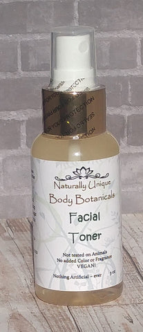 Gypsy Gems & Jewelry Naturally Unique™ Body Botanicals Facial Toner 3oz