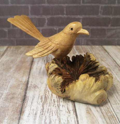 Gypsy Gems & Jewelry™ Indonesian Wood Bird