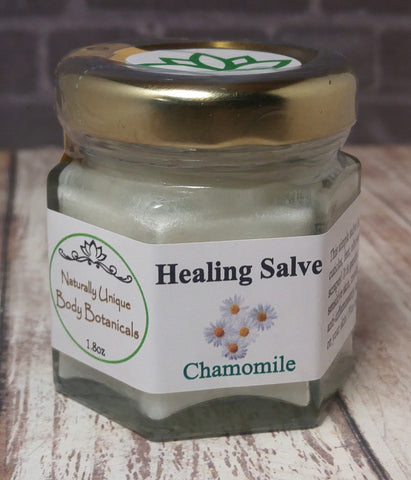 Gypsy Gems & Jewelry™ Naturally Unique Body Botanicals™ 1.8oz Chamomile Organic Healing Salve GGandJ.com