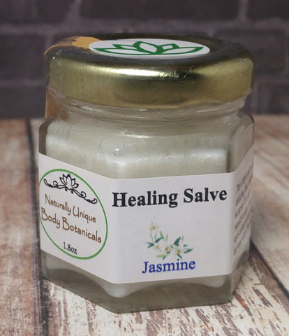 Gypsy Gems & Jewelry™ Naturally Unique Body Botanicals™ 1.8oz Jasmine Organic Healing Salve GGandJ.com