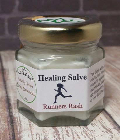 Gypsy Gems & Jewelry™ Naturally Unique Body Botanicals™ 1.8oz Runners Rash Organic Healing Salve GGandJ.com