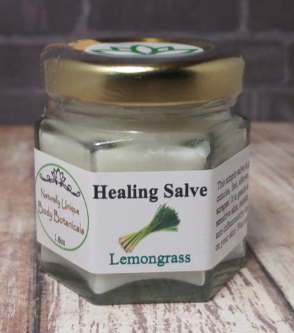 Gypsy Gems & Jewelry™ Naturally Unique Body Botanicals™ 1.8oz Lemongrass Organic Healing Salve GGandJ.com