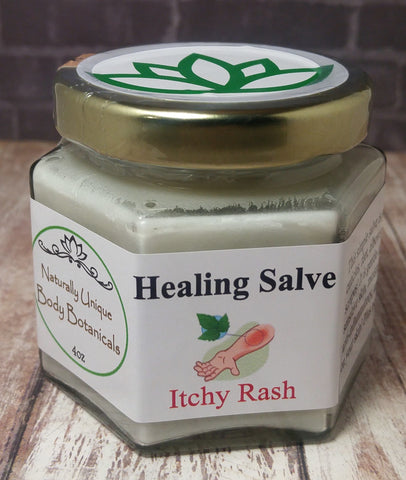 Gypsy Gems & Jewelry™ Naturally Unique Body Botanicals™ 4oz Itchy Rash Care Organic Healing Salve