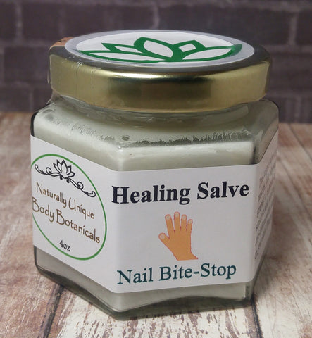 Nail Bite Stop - Handcrafted Organic Healing Salve