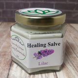 Gypsy Gems & Jewelry™ Naturally Unique Body Botanicals™ 4oz Lilac Organic Healing Salve GGandJ.com