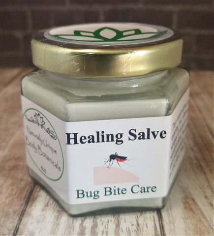 Gypsy Gems & Jewelry™ Naturally Unique Body Botanicals™ 4oz Bug Bite Care Organic Healing Salve