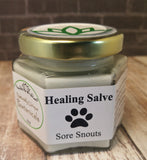 Sore Snout Care 4oz, Gypsy Gems & Jewelry™ Naturally Unique™ Pet Pawtanicals™ Salve, Pet Care, Organic Pet Products, Handmade Pet supplies, pet health, dog care, cat care, rabbit care
