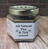 All Natural Flea and Tick Control Powder 4oz, Gypsy Gems & Jewelry™ Naturally Unique™ Pet Pawtanicals™ Salve, Pet Care, Organic Pet Products, Handmade Pet supplies, pet health, dog care, cat care, rabbit care