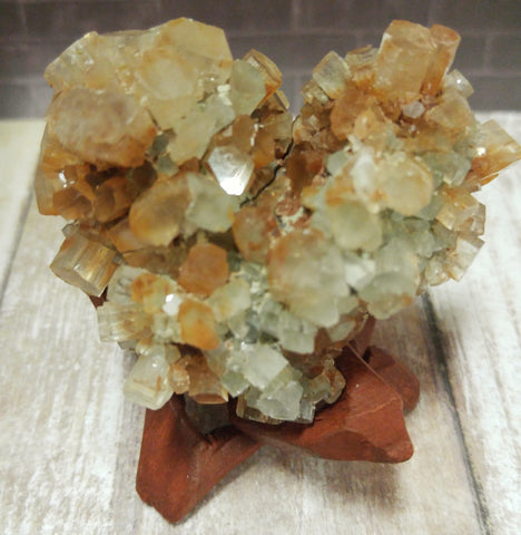 Aragonite Heart from Morocco GGandJ.com