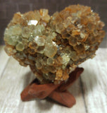 Aragonite Heart from Morocco