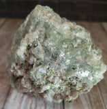 Natural green Prehnite with Epidote Gemstone Crystal from Morocco on GGandJ.com