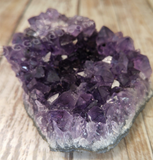 Natural Purple Amethyst Crystal from Brazil GGandJ.com
