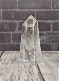Natural Clear Quartz Tower from Madagascar Healing Clarity Spiritual Cleansing Reiki Natural Crystal