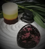 Spa Luxury Relax Reiki Energy Healing Meditation Natural Gemstone Mineral Gypsy Gems & Jewelry GGandJ.com Rhodonite