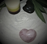 Spa Towel massage Oil gemstone wand Relax Therapeutic Luxury Flower Healing Candle Rose Quartz