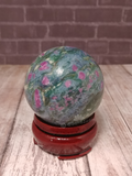Natural Ruby Zoisite Sphere Gypsy Gems & Jewelry