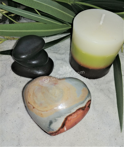 Spa Luxury Relax Reiki Energy Healing Meditation Natural Gemstone Mineral Gypsy Gems & Jewelry GGandJ.com Jasper