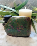Spa Luxury Relax Reiki Energy Healing Meditation Natural Gemstone Mineral Gypsy Gems & Jewelry GGandJ.com Ruby Zoisite