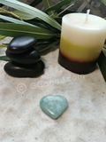Spa basalt  massage Oil gemstone wand Relax Therapeutic Luxury Flower Healing Candle Amazonite