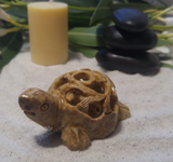 Spa Luxury Relax Reiki Energy Healing Meditation Natural Gemstone Mineral Gypsy Gems & Jewelry GGandJ.com Soapstone Turtle