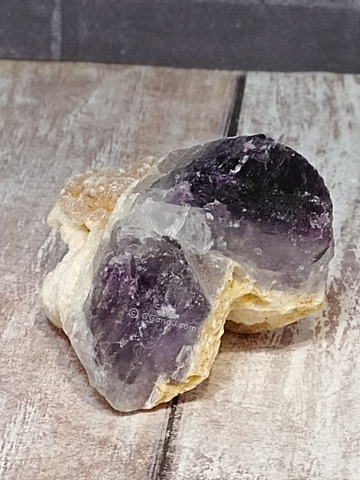 Purple Fluorite gemstone mineral from Morocco Gypsy Gems & Jewelry Naturally Unique
