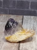 Purple white and yellow natural stone