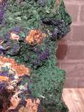 Malachite with Azurite on GGandJ.com
