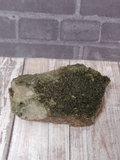 Natural green  Epidote Gemstone Crystal from Morocco on GGandJ.com