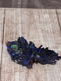 Azurite with Malachite small specimen with large fans