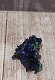 Moroccan blue and green malachite and azurite