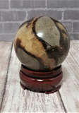 Septarian Sphere from Madagascar on GGandJ.com