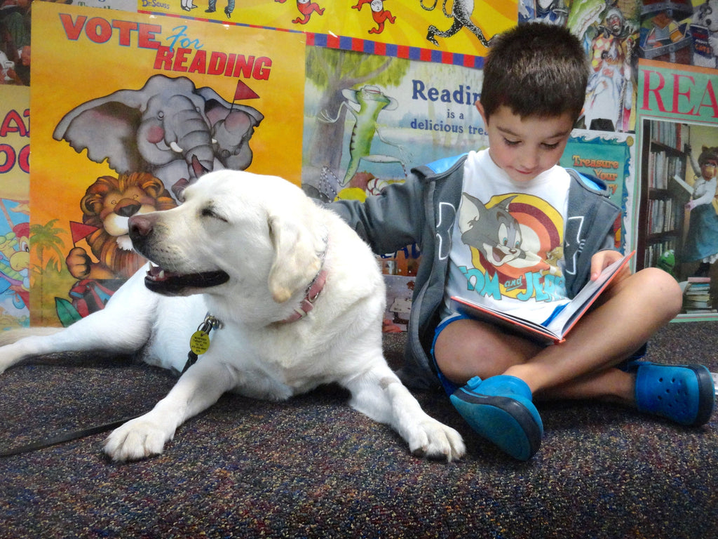 PAWS FOR EFFECT: Combining Dogs, Books & Kids