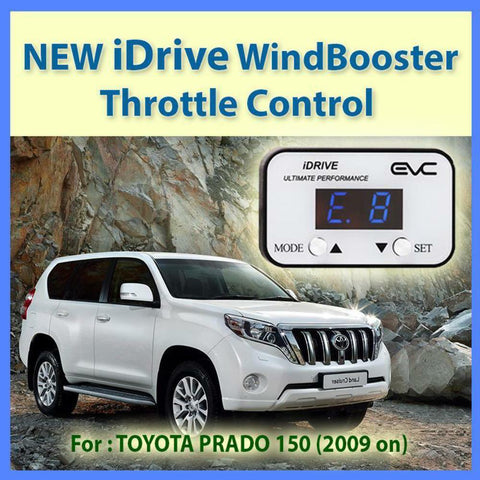 NEW IDRIVE WINDBOOSTER THROTTLE CONTROL for TOYOTA PRADO 150 2009 ON
