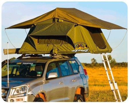 ROOF TOP TENT CAMPER TRAILER 4WD 4X4 CAMPING CAR RACK ANNEX AWNING STD