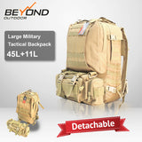 SWAT MILITARY ASSAULT TRACTICAL RUCHSACK 55L CAMPING HIKING TREKKING BACKPACK