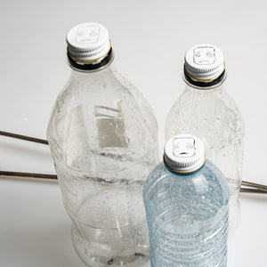 Four included steel caps turn most plastic bottles into instant targets for your MMX Marshmallow Crossbow