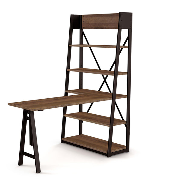 Rupert Bookcase with desk